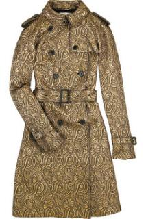 3.1 Phillip lim jacquard trench coat