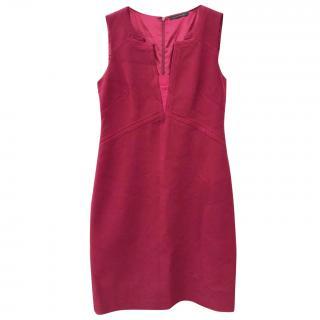 Elie Tahari red dress