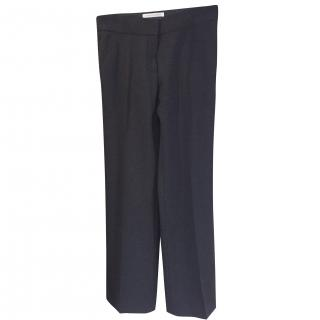 Louise Kennedy Avery Black evening trousers