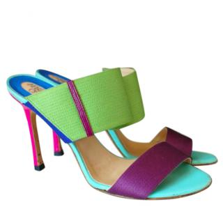 Versace Colorful Heels