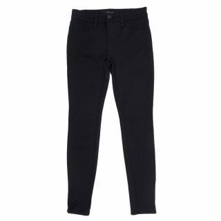 J Brand Black Python Patterned Jeans