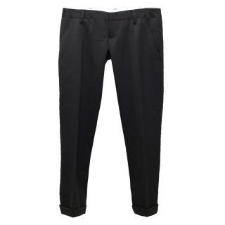 Dsquared Black Tuxedo Trousers