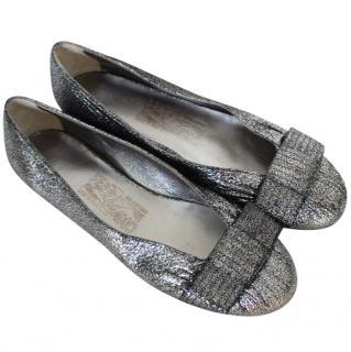 Salvatore Ferragamo Leather Flats