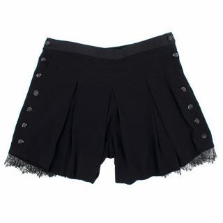 The Kooples Black Shorts