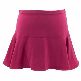 Joseph Pink Crepe Stretch Mini Skirt