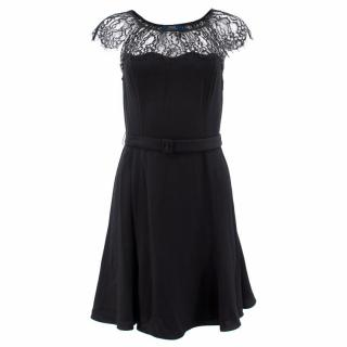 Polo Ralph Lauren Black Lace Dress