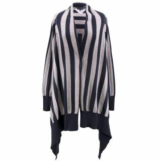 Tommy Hilfiger Wool and Cashmere Stripe Cardigan