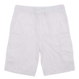 Ralph Lauren White Elastic Shorts