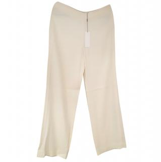 Helmut Lang wide leg pants