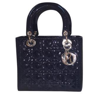 Lady Dior Medium Leather Bag