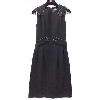 Chanel wool and silk dress