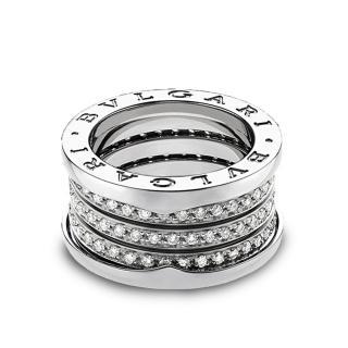 Bulgari 3 Band Diamond Bzero Ring