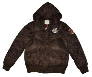 Moncler Men's Brown quilted down jacket