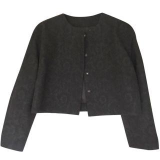 Dolce and Gabbana Black Cropped Jacket