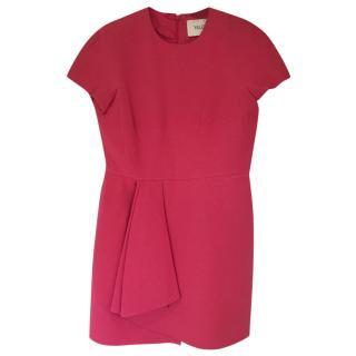 Valentino pink wool/silk dress