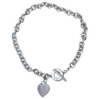 Tiffany & Co Silver Heart Necklace