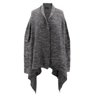 Zadig & Voltaire Grey Knit Cardigan