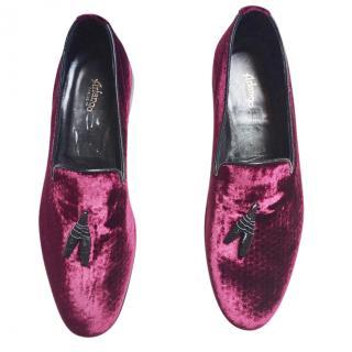 Arfango Velvet Loafers