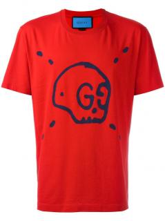 Gucci GG Gucci Ghost Red T Shirt