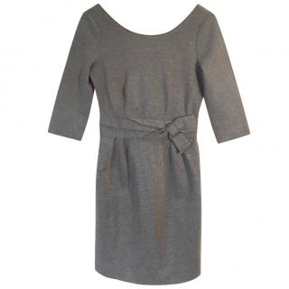 KATE SPADE grey stretchy sheath dress