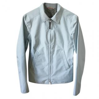 Prada blue gore-tex rain jacket