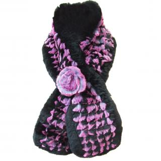 Berlin Furrier Rabbit fur scarf/stole