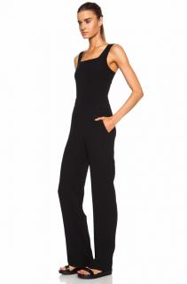 A.L.C. 'Reed' Cut-Out Back Crepe Jumpsuit