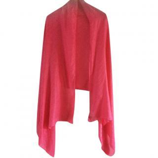 Just Cavalli pink pashmina scarf/shawl