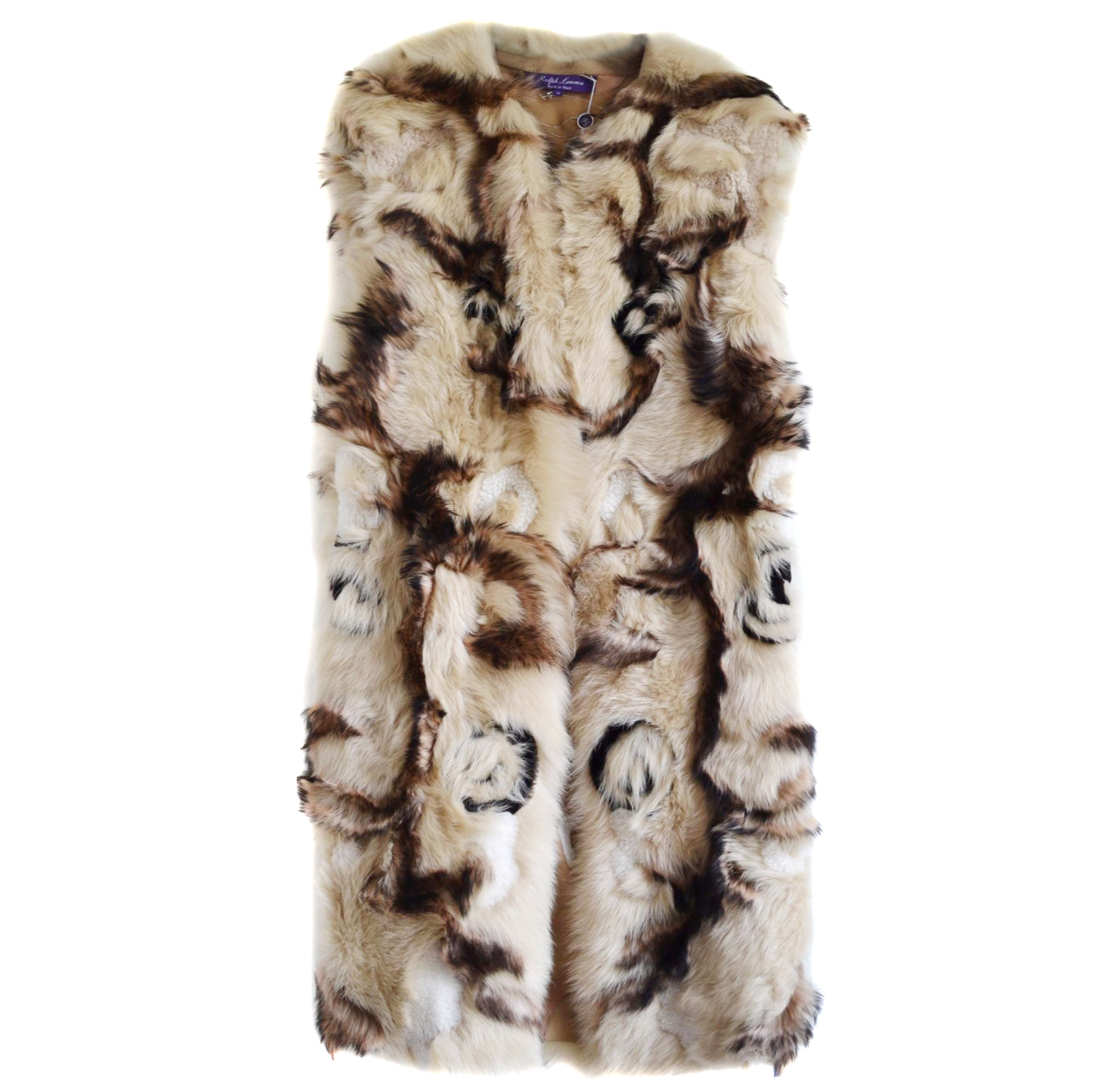 Ralph Lauren Collection Rare Runway Shearling Coat