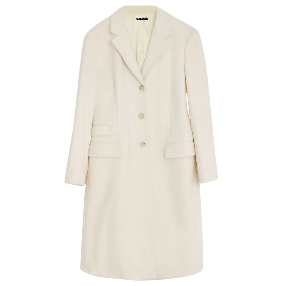 Sisley wool cream coat