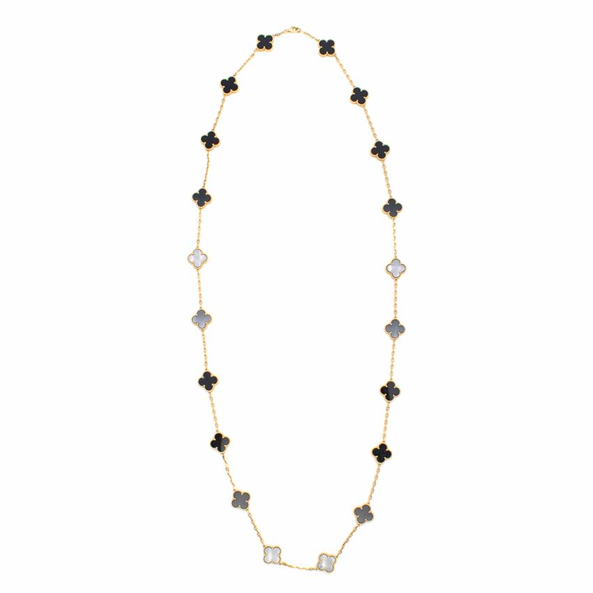 Van Cleef & Arpels Vintage Alhambra Long Necklace
