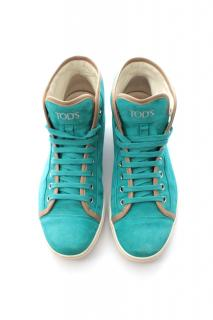 Tod's Suede High-Top Lace-Up Trainers