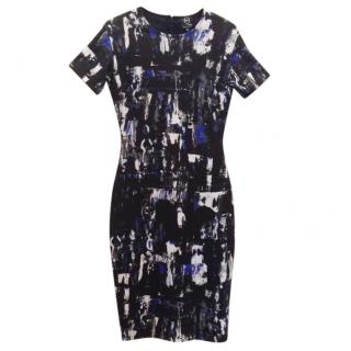 MCQ Cotton jersey fitted dress