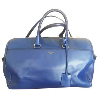 Saint Laurent blue  bowling bag