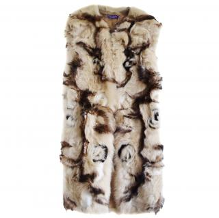 Ralph Lauren Collection Rare Runway Shearling Coat