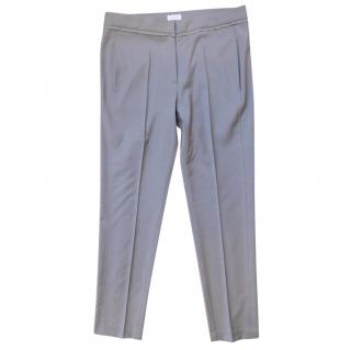 Brunello Cucinelli Ribbon Trimmed Trousers