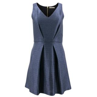 Balenciaga Blue A Line Dress