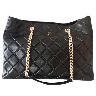 Carolina Herrera Black Shoulder Tote bag