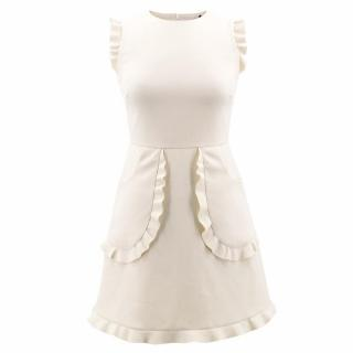 Red Valentino Ivory A- Line Dress