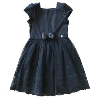 Dior girl's black occasion dress