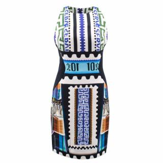Mary Katrantzou Patterned Cotton Dress