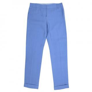 Diane Von Furstenberg Light Blue Trousers