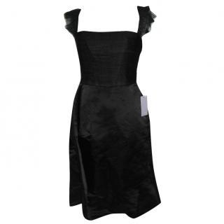 Vera Wang Lavender Label black silk dress