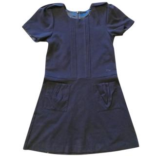 Dior navy blue girl's dress