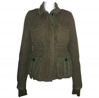 Zadig & Voltaire Military Padded Jacket