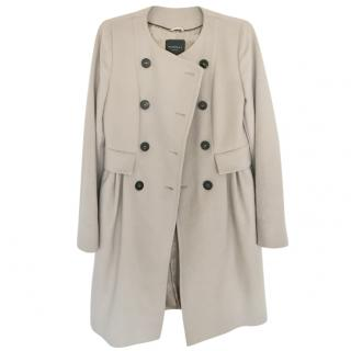 Marbella grey wool coat