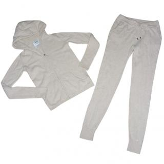 Banjo & Matilda 100% Cashmere Hooded Jacket Joggers
