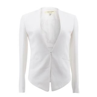 Rag & Bone White Blazer Jacket