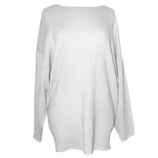 CHLOE pure cashmere long jumper, size L NEW