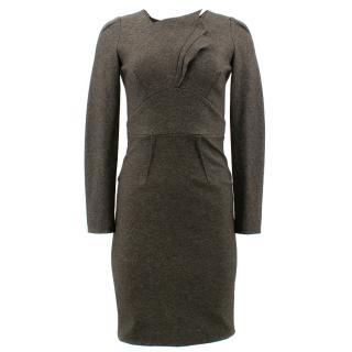 Roland Mouret Grey Assymmetric Dress
